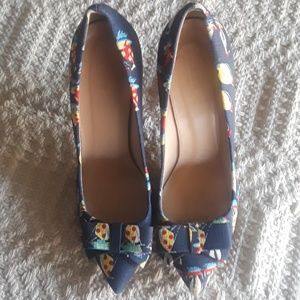 J Crew Collection Bow Pumps Size 9 1/2